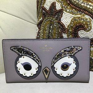 Kate Spade Sparkling owl Wallet